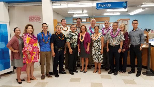 State Representative John Mizuno at the Kamehameha Longs Drugs CVS Pharmacy.