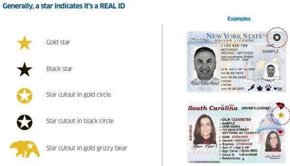 Real ID Stars