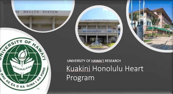 UH JABSOM Kuakini Honolulu Heart Program